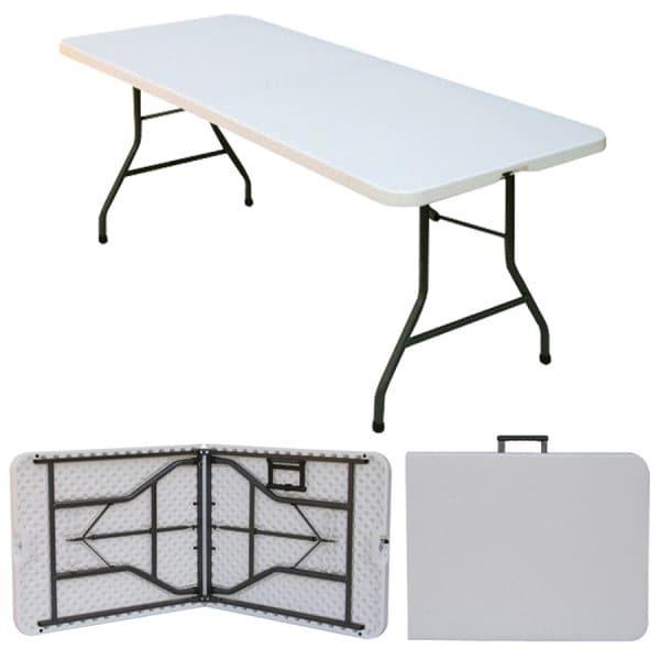 1.8 m Long Folding Trestle Table - BE Furniture Sales