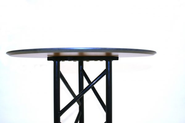 Side view of Sandringham High Table for Sale - BE Furniture Sales
