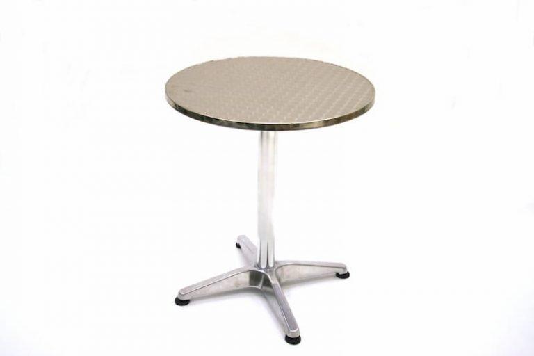 Aluminium Bistro Table 60cm - BE Furniture Sales