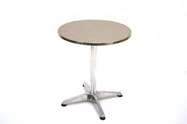 Round 60 cm Weather Resistant Aluminium Table - BE Furniture Sales
