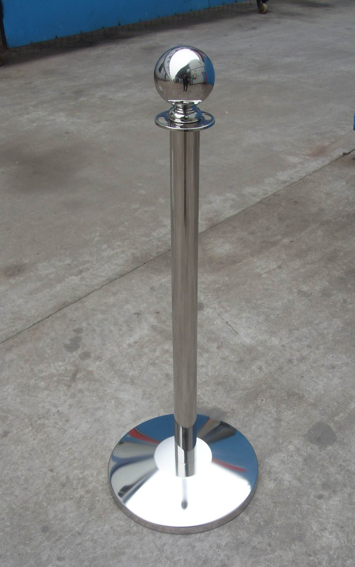 Weighted Cafe Barrier Upright Posts Barrier Posts Be