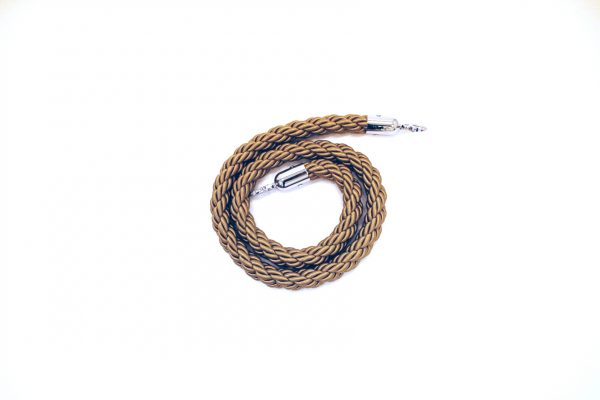 Champagne Twisted Ropes