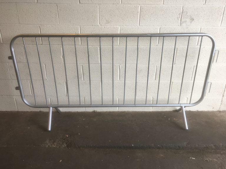 ex hire 2.5 Meter Crowd Control Barrier - BE Furniture Sales