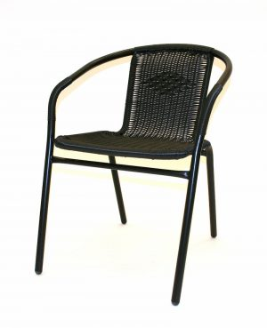 Black Rattan Chairs - Cafe's, Bistros or Home - BE Furniture Sales
