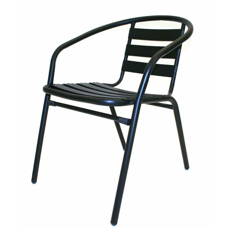 Black Steel Chairs - BE Furniture Sales