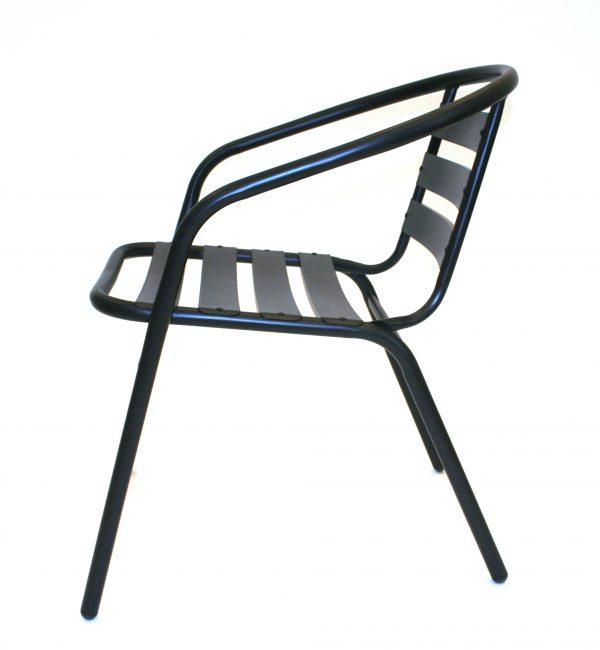 Black Steel Chairs