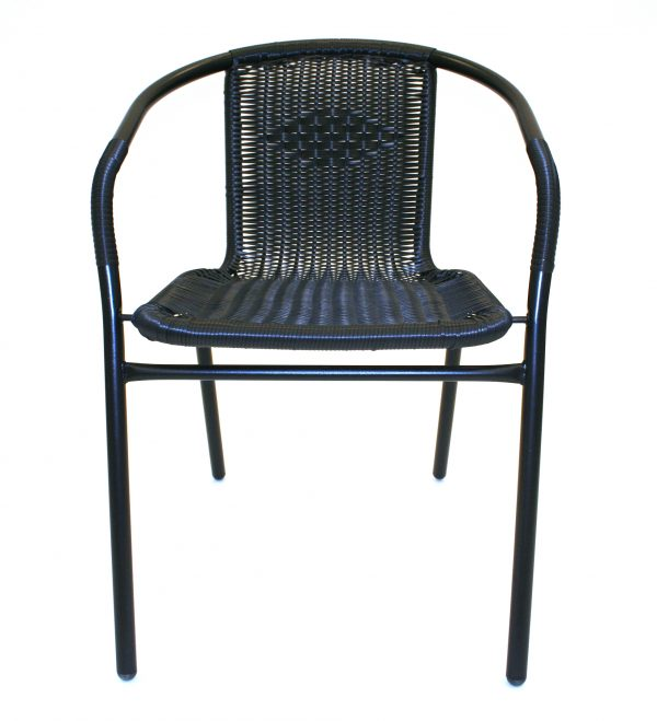 Black Rattan Chairs