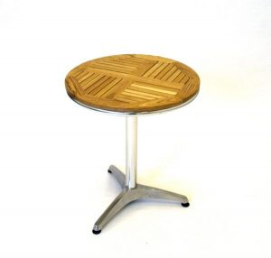 fish & chip shop round ash wood top table - BE Furniture Sales