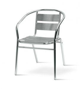 fish & chip shop standard aluminium chair - BE Furniture Sales