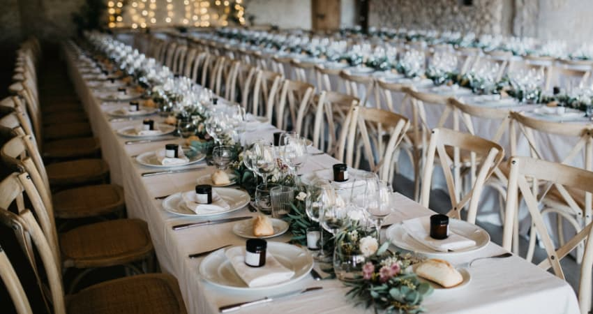 bulk buy discounts available on wedding and event venue chairs - BE Furniture Sales