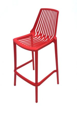Red Porto Bar Stools - Pub, Cafe's, Event Venues - BE Furniture Sale