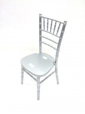 Silver Chivari Chair - Weddings, Functions, Events - BE Furniture Sales