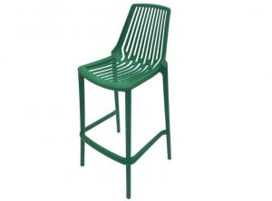 Green Porto Bar Stools - Pub, Cafe's, Event Venues - BE Furniture Sale