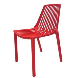 Red Lisbon Chairs - Cafe's, Bistros or Garden - BE Furniture Sales