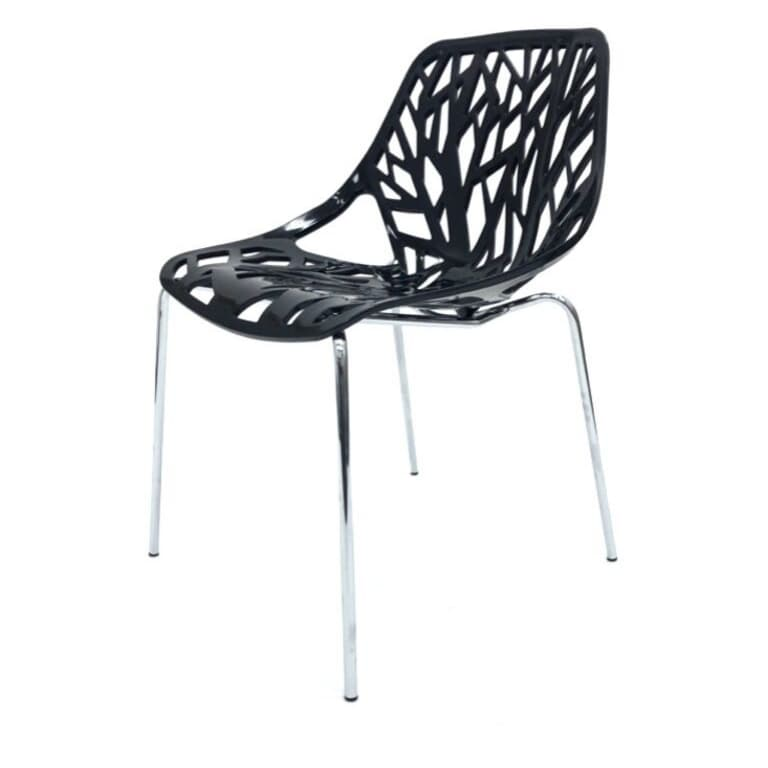 Black Tuscany Chairs - BE Furniture Sales