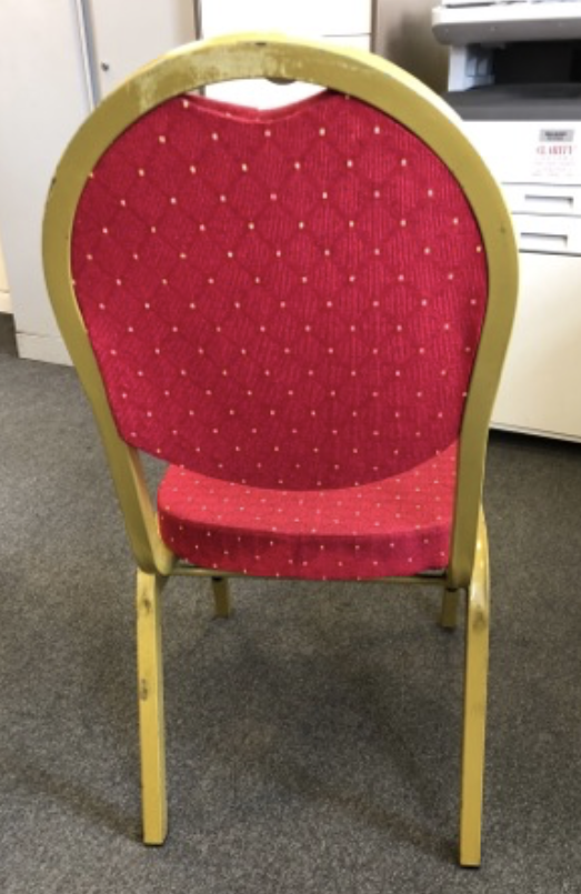Red Banquet Chairs