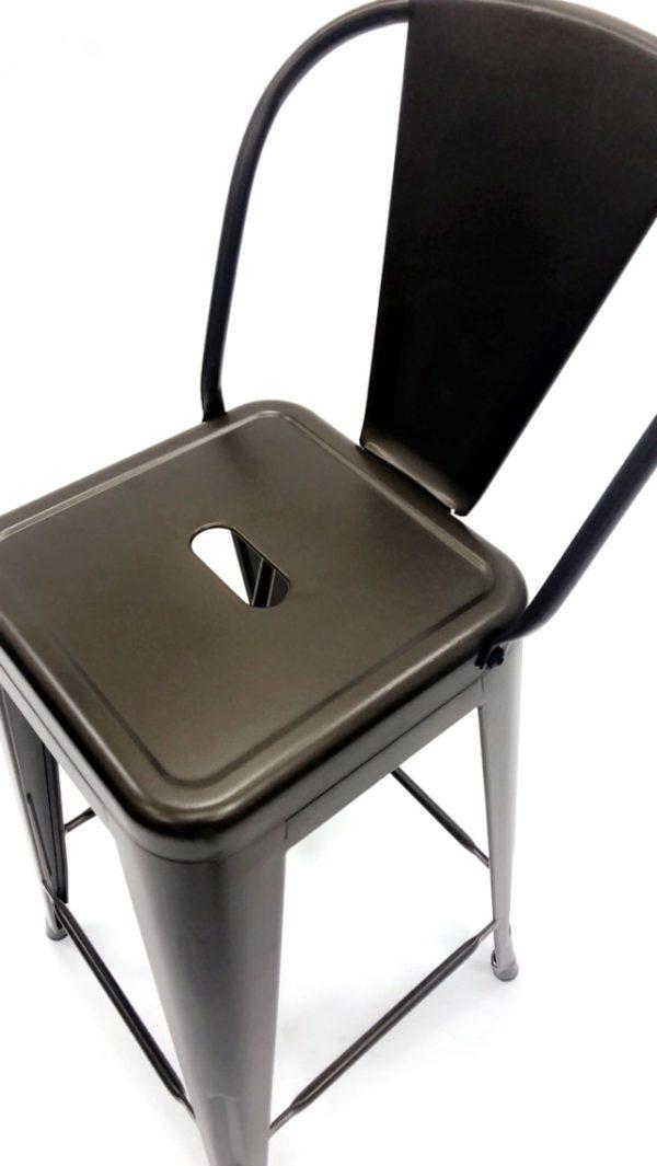 Bronze Tolix Counter Stools