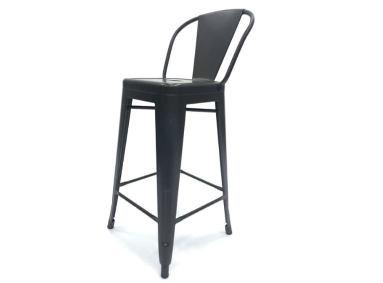 Bronze Metal Tolix Counter Stools - BE Furniture Sales