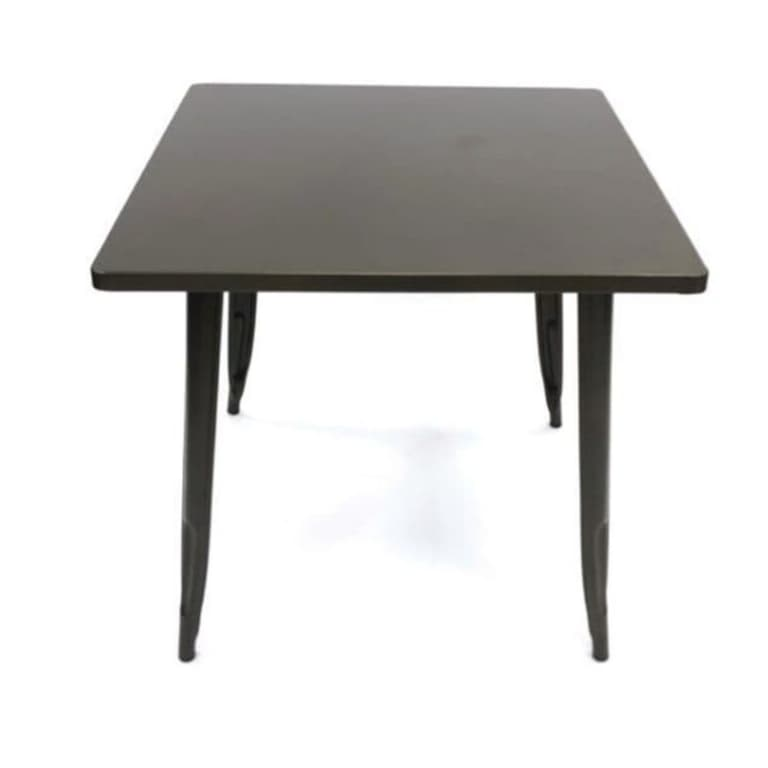 Bronze Metal Tolix Tables - BE Furniture Sales