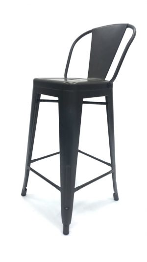 Bronze Metal Tolix Counter Stools - Restaurant, Cafe's, Bistros - BE Furniture Sales
