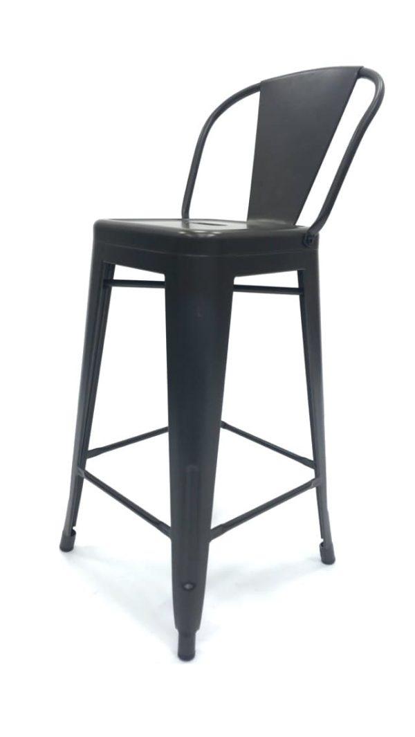 Bronze Metal Tolix Counter Stools - Restaurant, Cafe's, Bistros - BE Furniture Sales