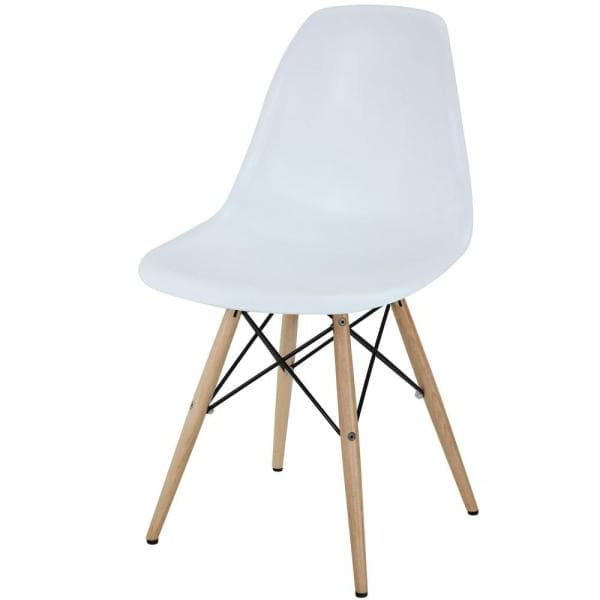 White Pyramid Dining Chairs - BE Furniture Sales