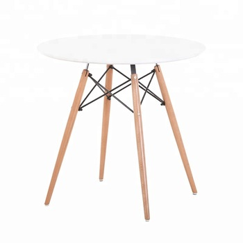 80 cm Round Wooden Pyramid Table - BE Furniture Sales
