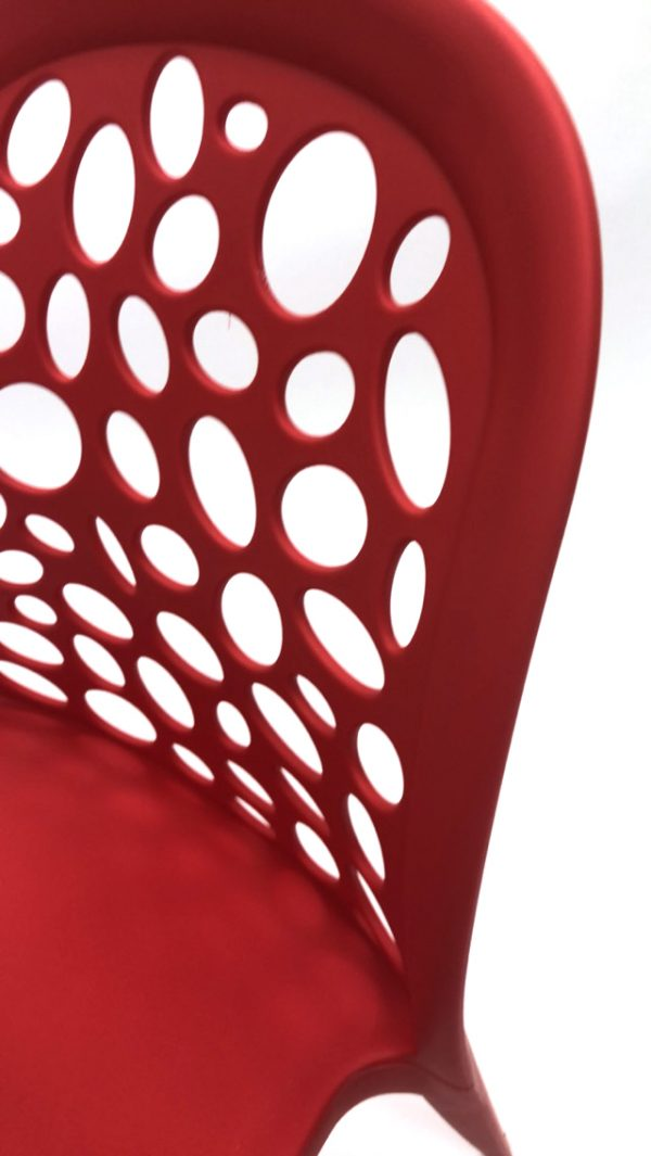 Red Roma Plastic Chairs