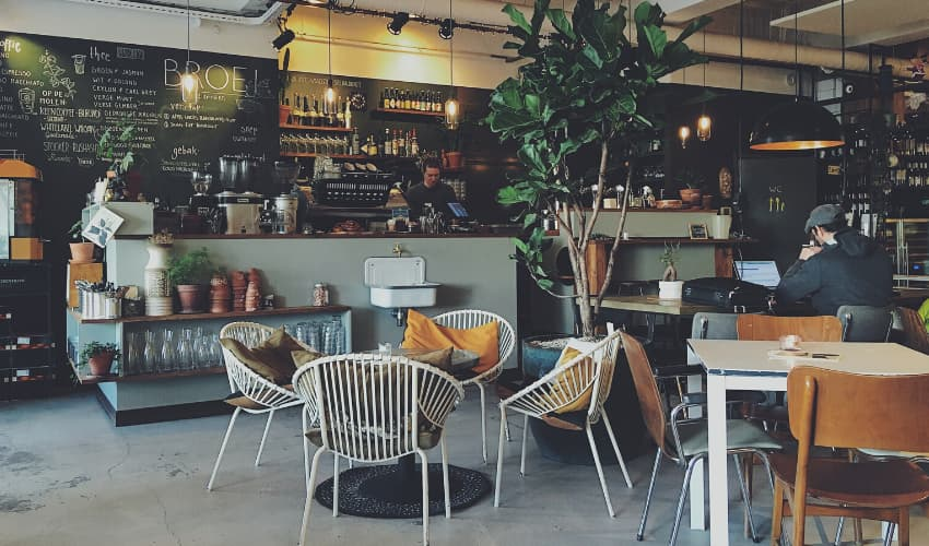 Types of Cafe Customers - BE Furniture Sales