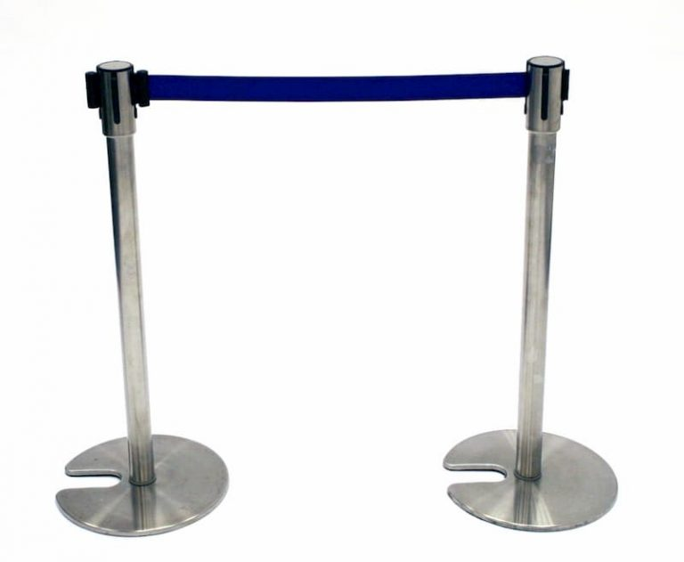 Ex Hire Blue Stretch Barrier - BE Furniture Sales
