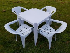 Plastic Garden Furniture Sets Home & Commercial BE