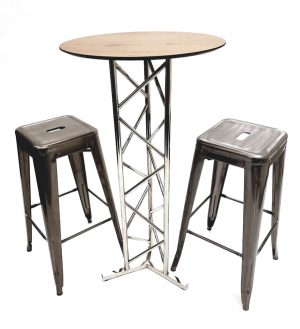 Tolix Bar Stool Set