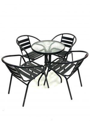 Black Steel Furniture Sets