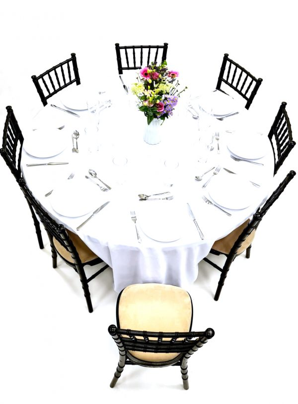 Black Chiavari Chairs & Table Dining Sets - BE Furniture Sales