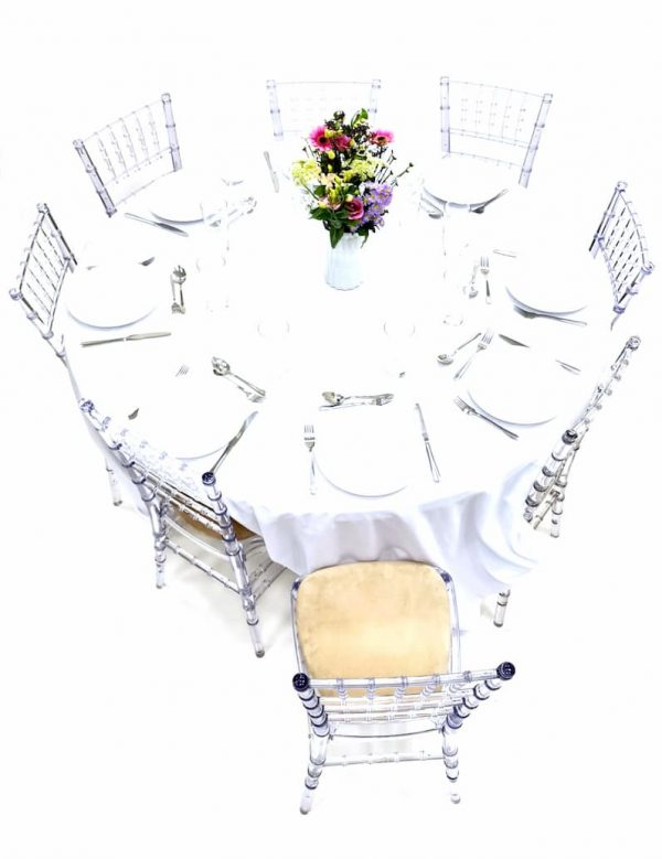 Crystal Chiavari Chairs & Table Dining Sets - BE Furniture Sales