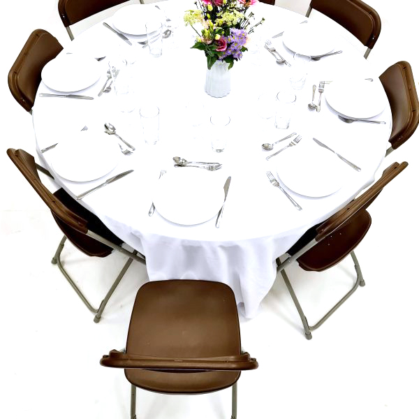 Fold Away Samsonite Chairs & Table Dining Sets - BE Furniture Sales