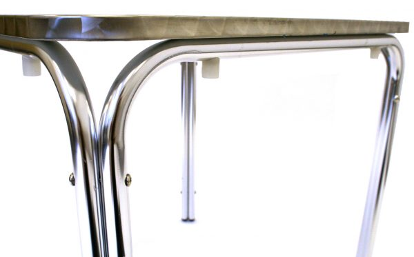 Square Stacking Aluminium Table