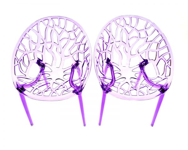 Purple Tree Chairs