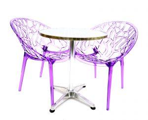 Purple Umbria Balcony Sets