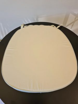 Ivory Seat Pad / Cushion for Crossback Chairs - BE Furniture Sales
