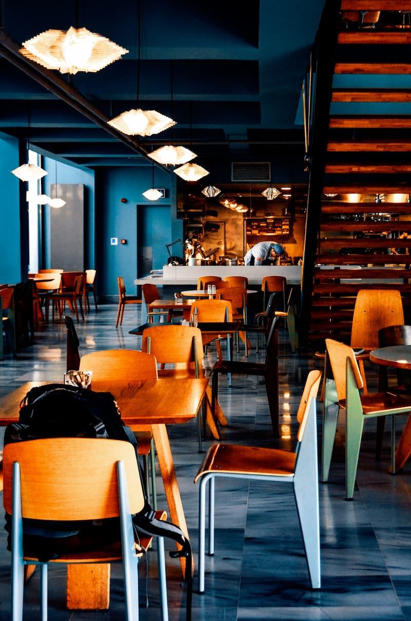 Unique Interiors - Restaurant Interior Design Trends 2021 - BE Furniture Sales